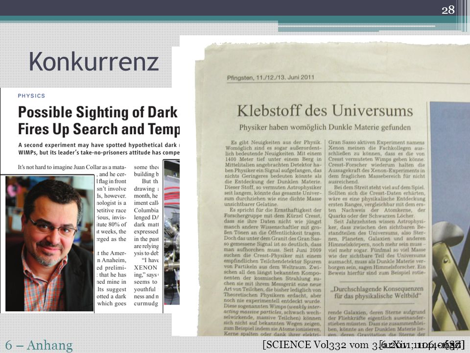 Konkurrenz 6 – Anhang [SCIENCE Vol332 vom 3.6.2011; 1144-1147]